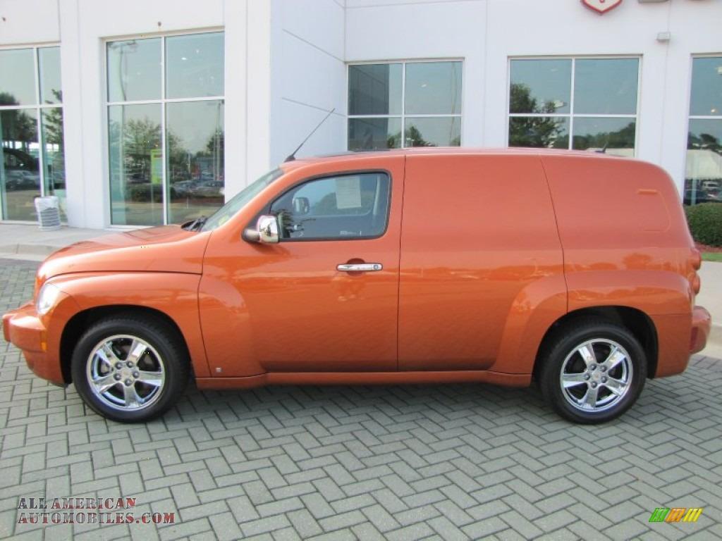 2008 Chevrolet Hhr Lt Panel In Sunburst Orange Ii Metallic