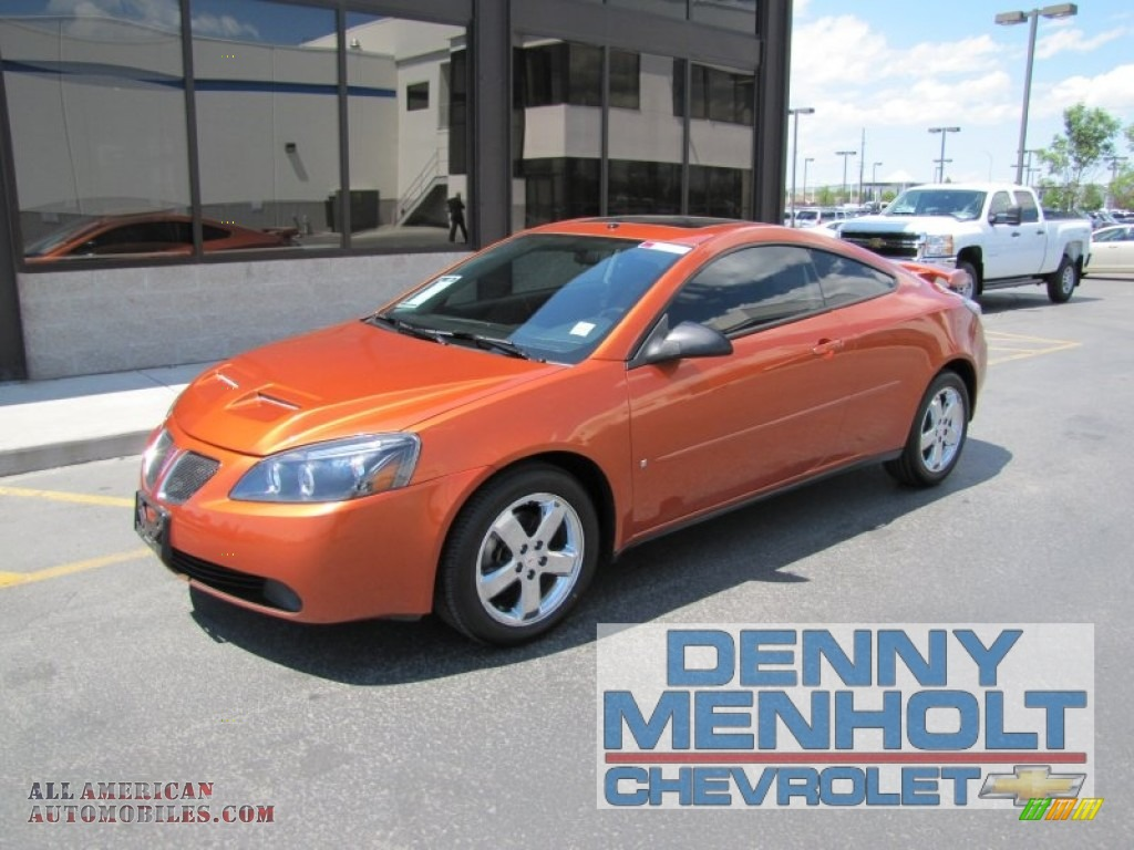 2006 Pontiac G6 GT Coupe in Fusion Orange Metallic - 168684 | All ...
