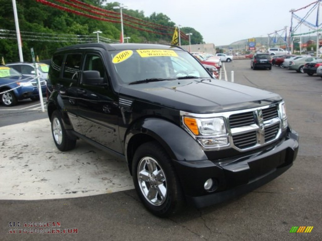2008 dodge nitro sxt 4x4 in brilliant black crystal pearl. Black Bedroom Furniture Sets. Home Design Ideas