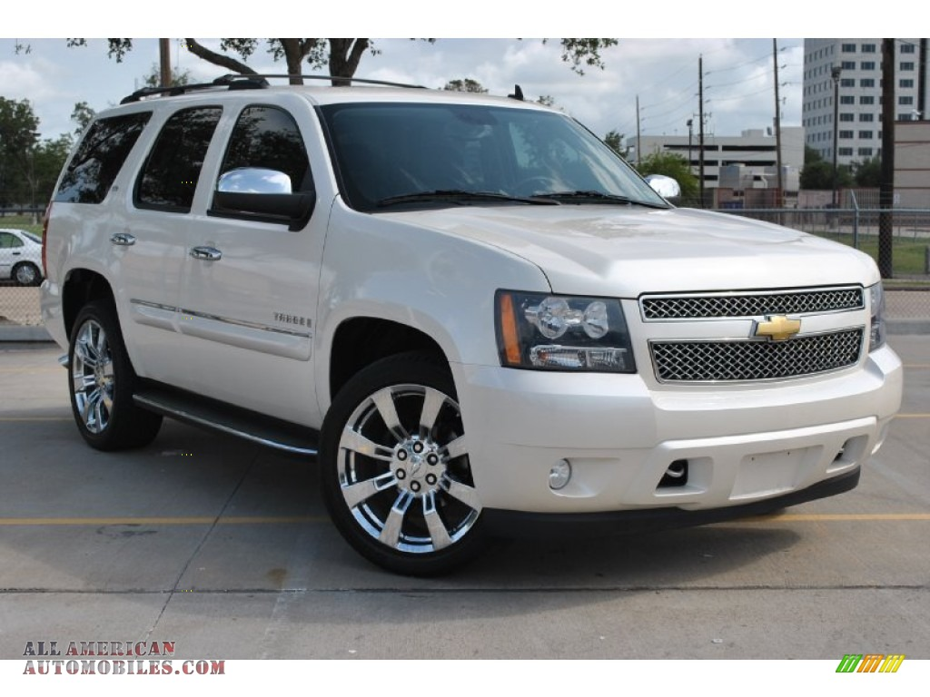 2008 chevrolet tahoe ltz in white diamond tricoat 201434 all american automobiles buy. Black Bedroom Furniture Sets. Home Design Ideas