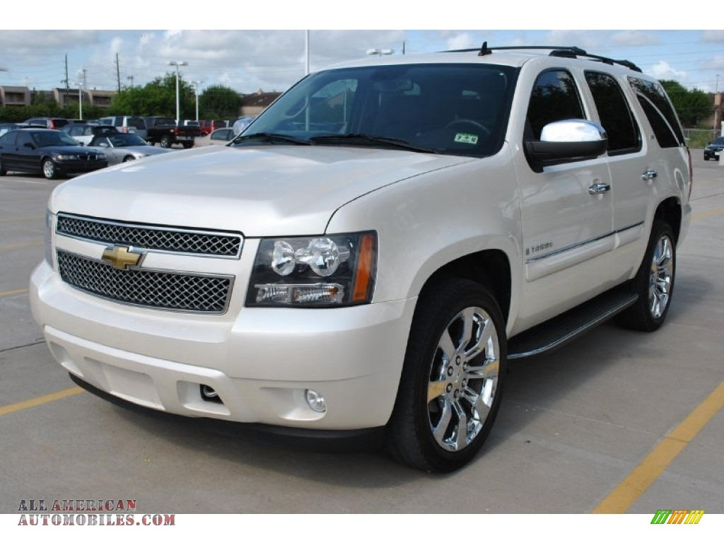 2008 chevrolet tahoe ltz in white diamond tricoat photo 2 201434 all american automobiles. Black Bedroom Furniture Sets. Home Design Ideas