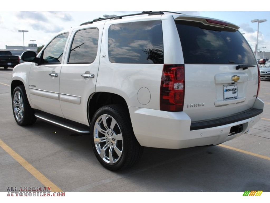 2008 Chevrolet Tahoe Ltz In White Diamond Tricoat Photo 3