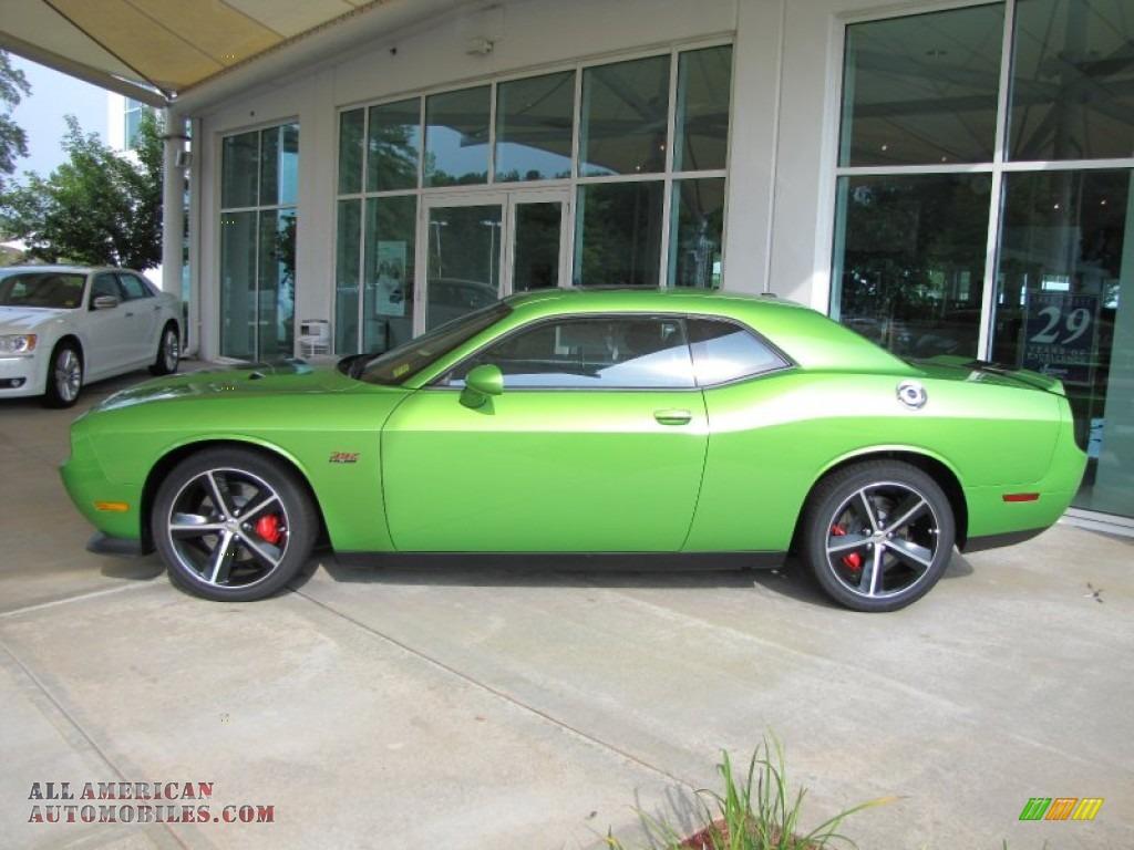 2011 challenger srt8 392 green with envy dark slate gray photo 2