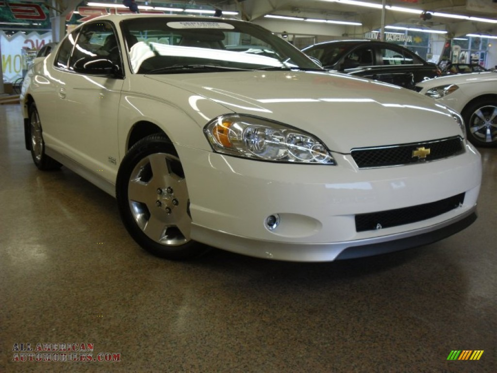 2007 chevrolet monte carlo ss in white 110088 all american automobiles buy american cars. Black Bedroom Furniture Sets. Home Design Ideas