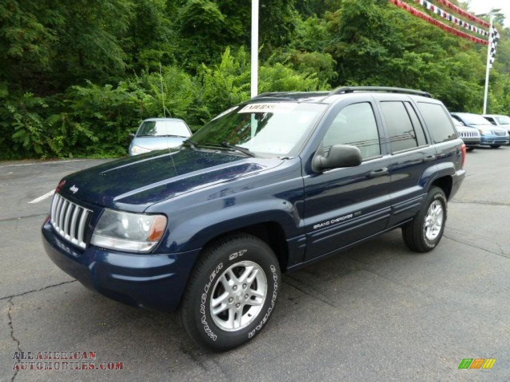 2004 Jeep Grand Cherokee Laredo 4x4 In Midnight Blue Pearl