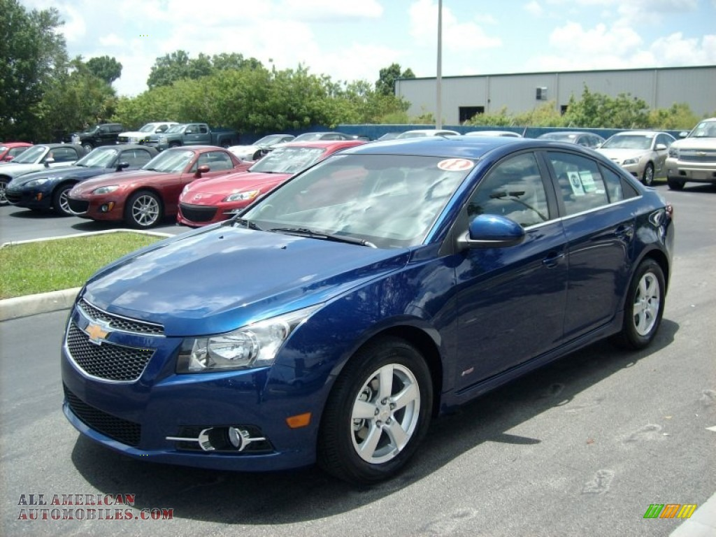 2012 chevrolet cruze lt rs in blue topaz metallic 107843 all american automobiles buy. Black Bedroom Furniture Sets. Home Design Ideas