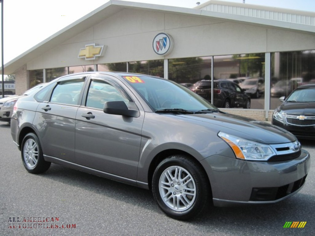 2009 ford focus se sedan in sterling grey metallic 212526 all american automobiles buy. Black Bedroom Furniture Sets. Home Design Ideas