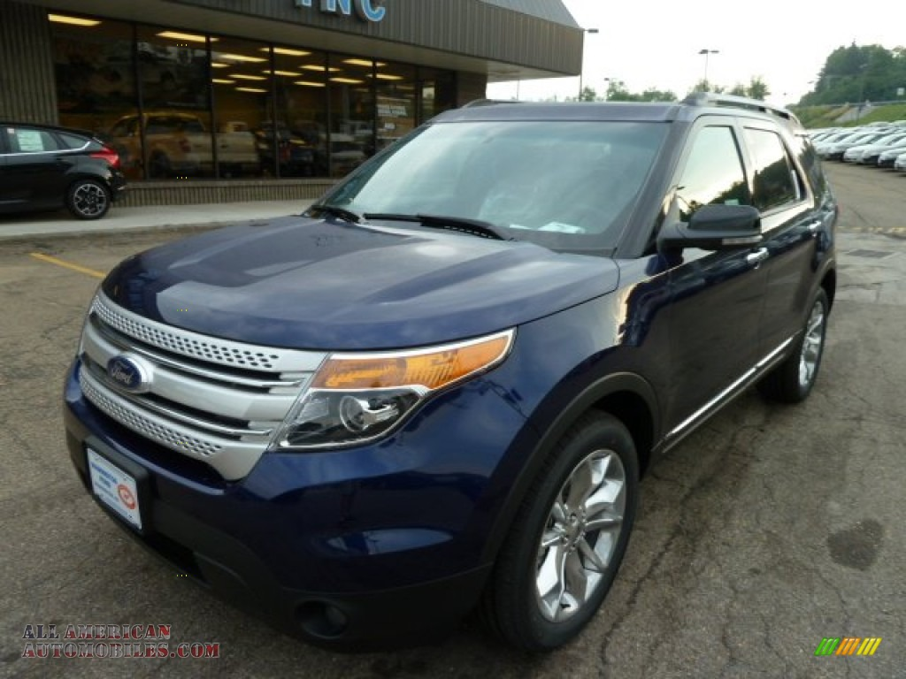 2011 ford explorer xlt 4wd in kona blue metallic photo 8. Black Bedroom Furniture Sets. Home Design Ideas