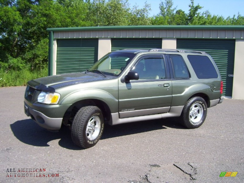 2001 ford explorer sport 4x4 in spruce green metallic photo 4. Cars Review. Best American Auto & Cars Review