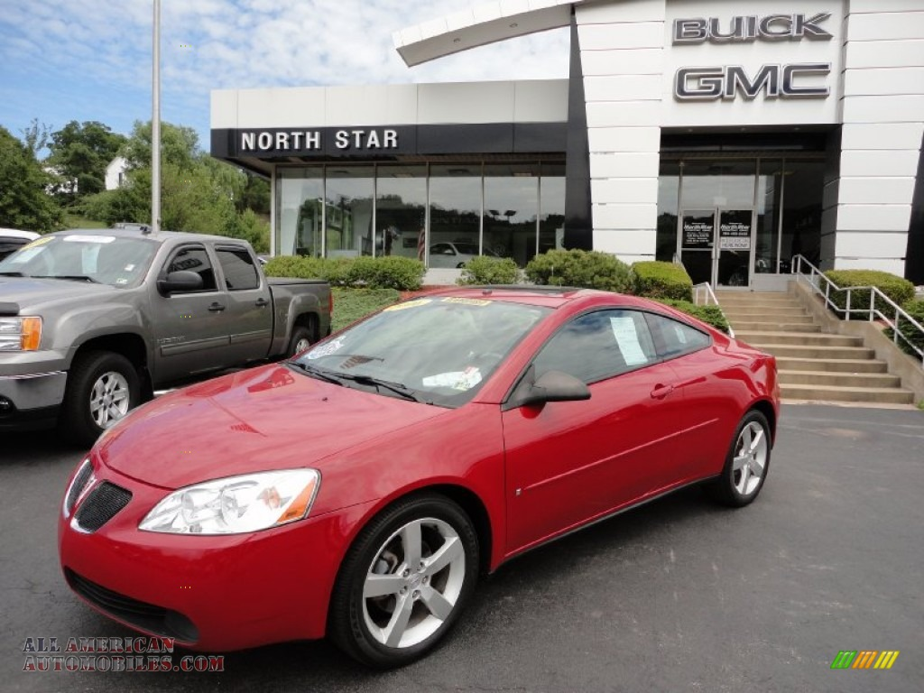 2006 pontiac g6 gtp coupe in crimson red 126445 all american automobiles buy american cars. Black Bedroom Furniture Sets. Home Design Ideas