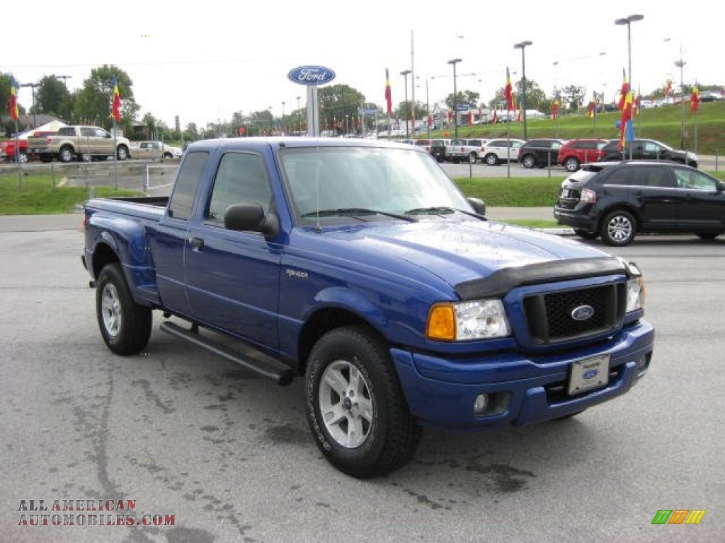 2004 ford ranger edge supercab 4x4 in sonic blue metallic photo 4 a92819 all american. Black Bedroom Furniture Sets. Home Design Ideas