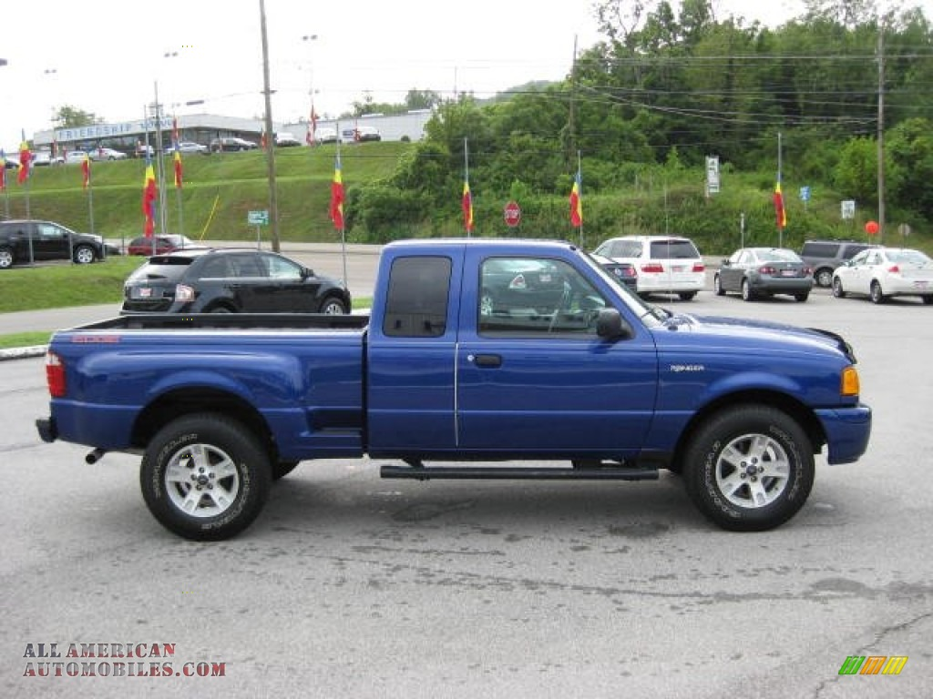 2004 ford ranger edge supercab 4x4 in sonic blue metallic photo 5 a92819 all american. Black Bedroom Furniture Sets. Home Design Ideas