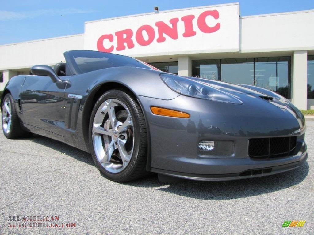 2011 Chevrolet Corvette Grand Sport Convertible in Cyber Gray Metallic ...