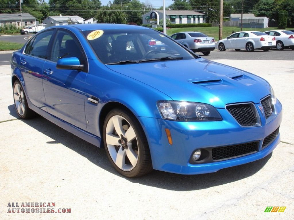 2009 Pontiac G8 Gt In Stryker Blue Metallic Photo 3 232228 All American Automobiles Buy
