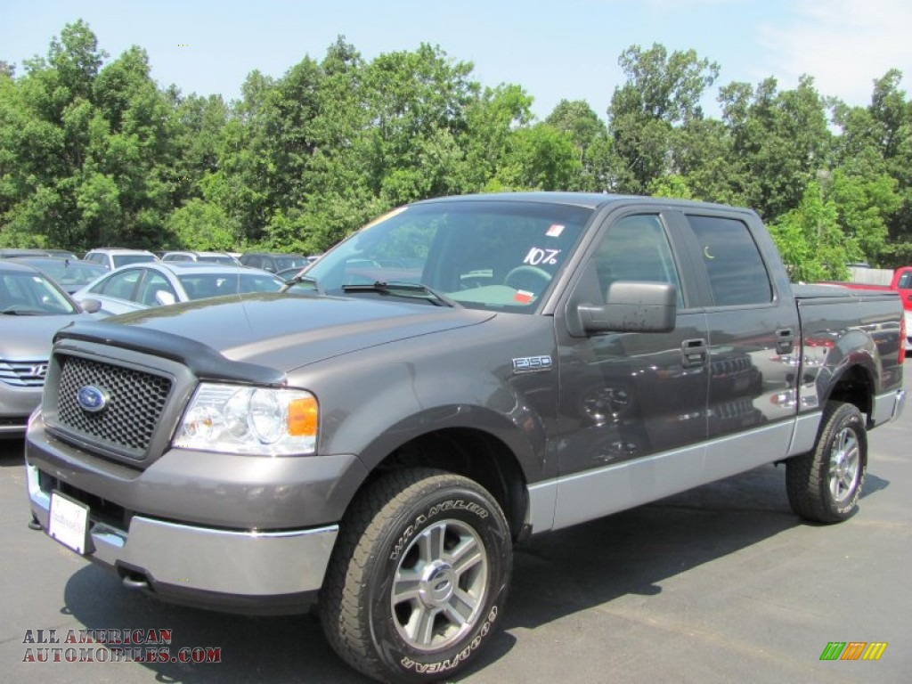 2005 ford f150 xlt supercrew 4x4 in dark shadow grey. Black Bedroom Furniture Sets. Home Design Ideas