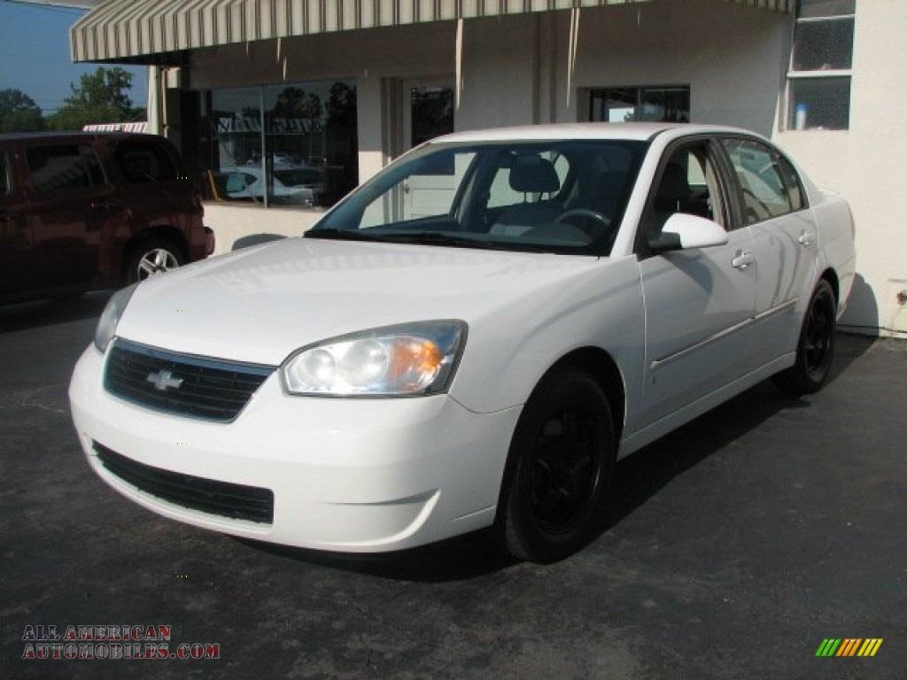 2006 Chevrolet Malibu LT V6 Sedan in White - 190024 | All ...