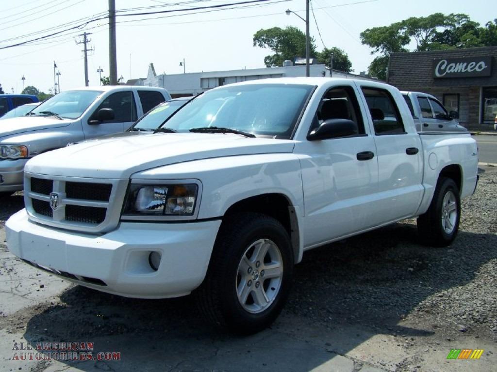 2011 dodge dakota big horn crew cab 4x4 in bright white 585732 all american automobiles. Black Bedroom Furniture Sets. Home Design Ideas