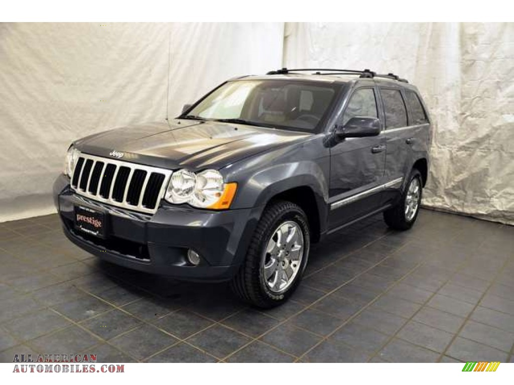 2008 Jeep Grand Cherokee Limited 4x4 in Steel Blue Metallic - 118610   All American Automobiles ...