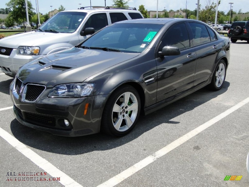 2008 pontiac g8 gt in magnetic gray metallic 151637 all american automobiles buy american. Black Bedroom Furniture Sets. Home Design Ideas