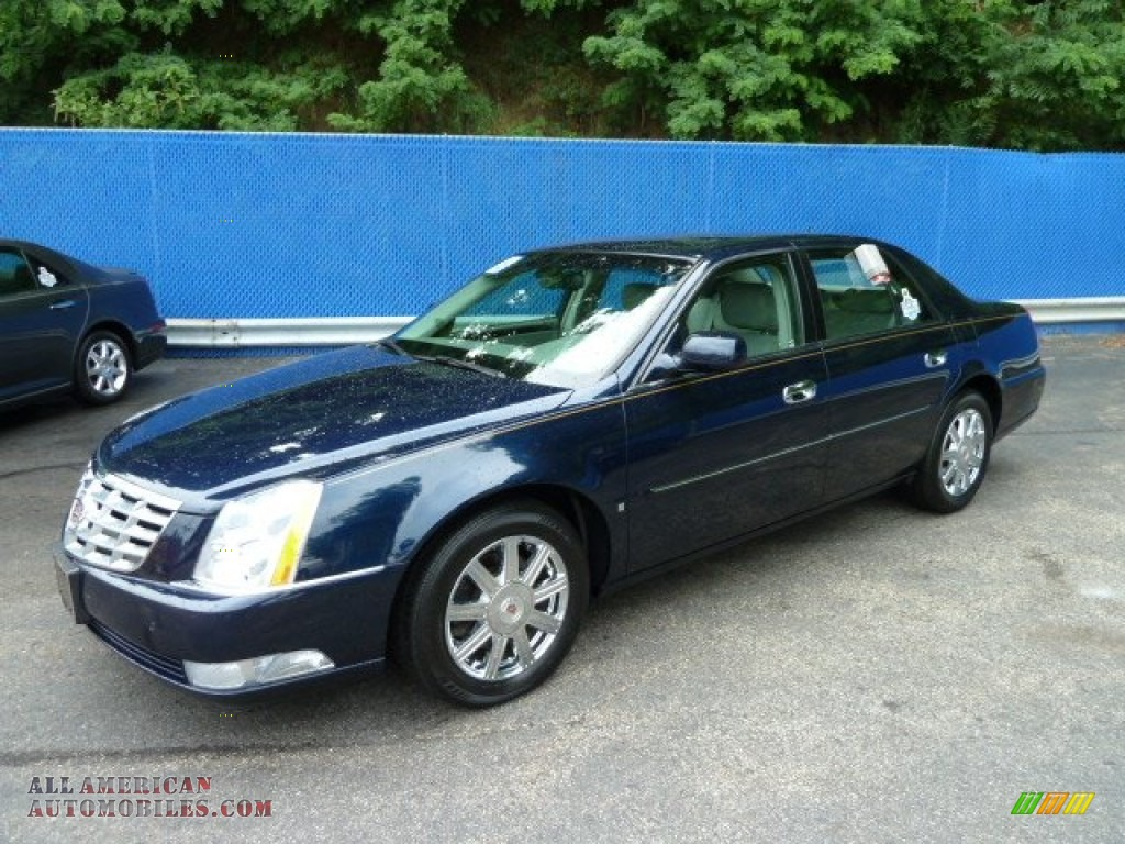 2008 cadillac dts in blue chip 163669 all american automobiles buy american cars for sale