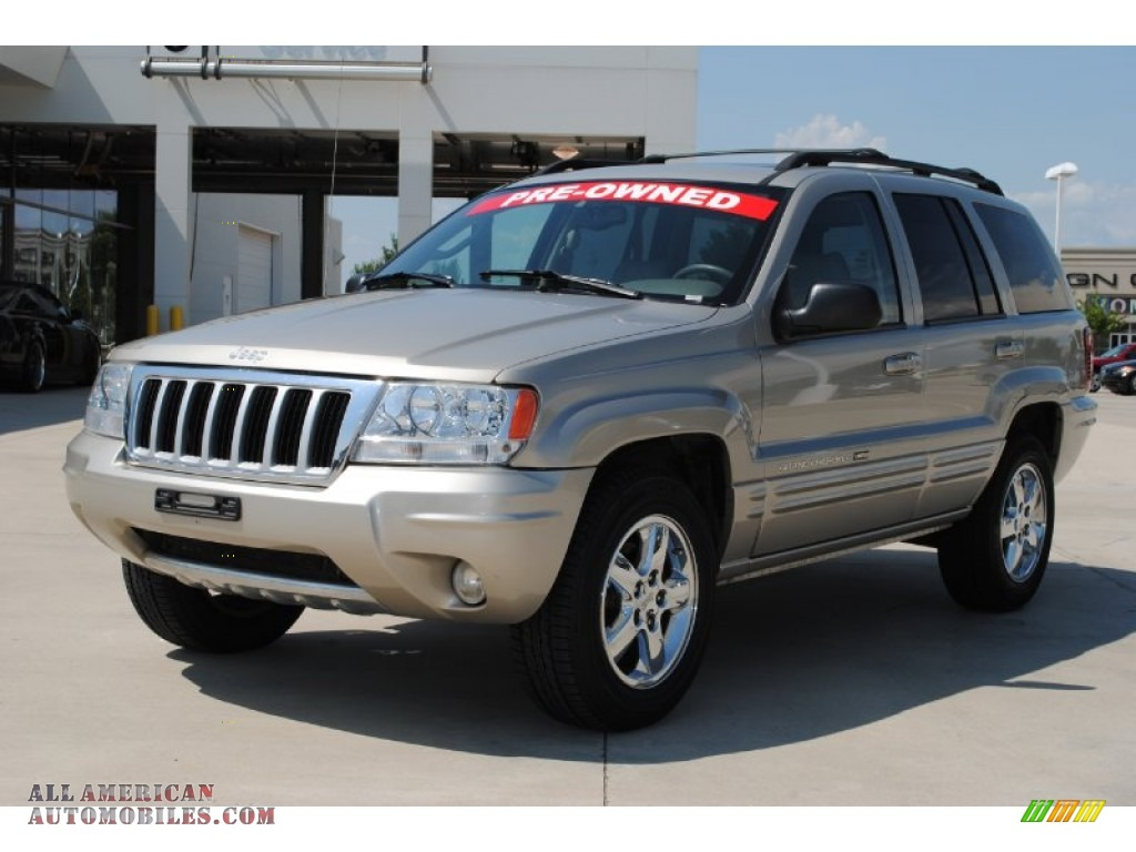 2004 jeep grand cherokee limited in light pewter metallic 268084 all american automobiles. Black Bedroom Furniture Sets. Home Design Ideas