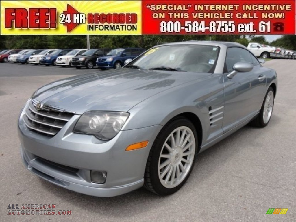 2005 chrysler crossfire srt 6 coupe in sapphire silver blue metallic 059969 all american. Black Bedroom Furniture Sets. Home Design Ideas