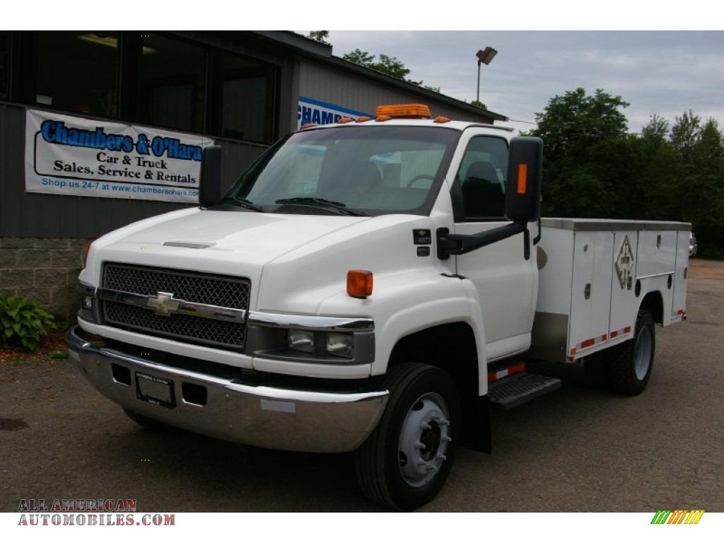 2004 chevrolet c series kodiak c4500 regular cab commercial truck in summit white 521996 all. Black Bedroom Furniture Sets. Home Design Ideas