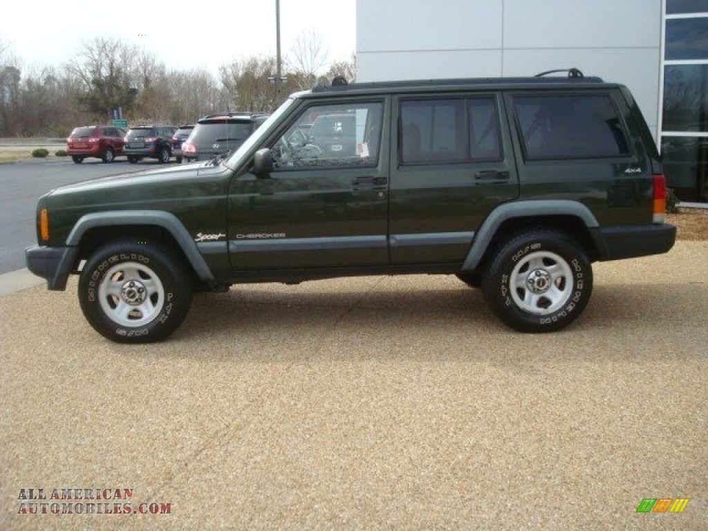 1998 jeep cherokee sport 4x4 in emerald green pearl photo 3 237616. Cars Review. Best American Auto & Cars Review