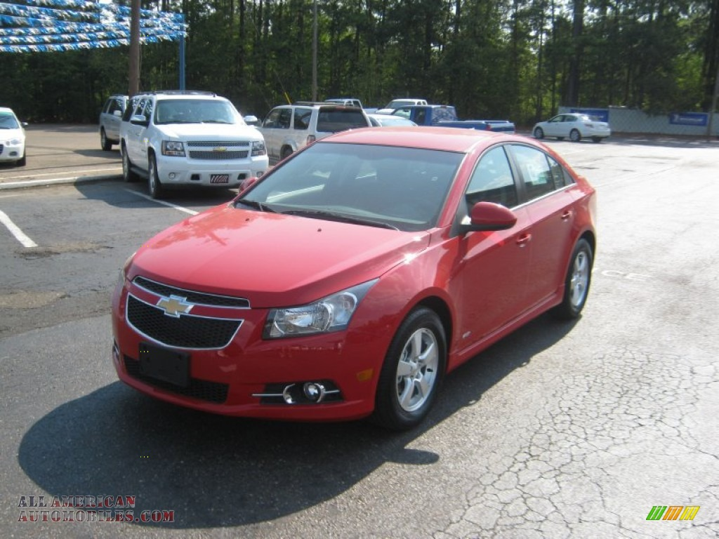 2012 chevrolet cruze lt rs in victory red 108745 all american automobiles buy american. Black Bedroom Furniture Sets. Home Design Ideas