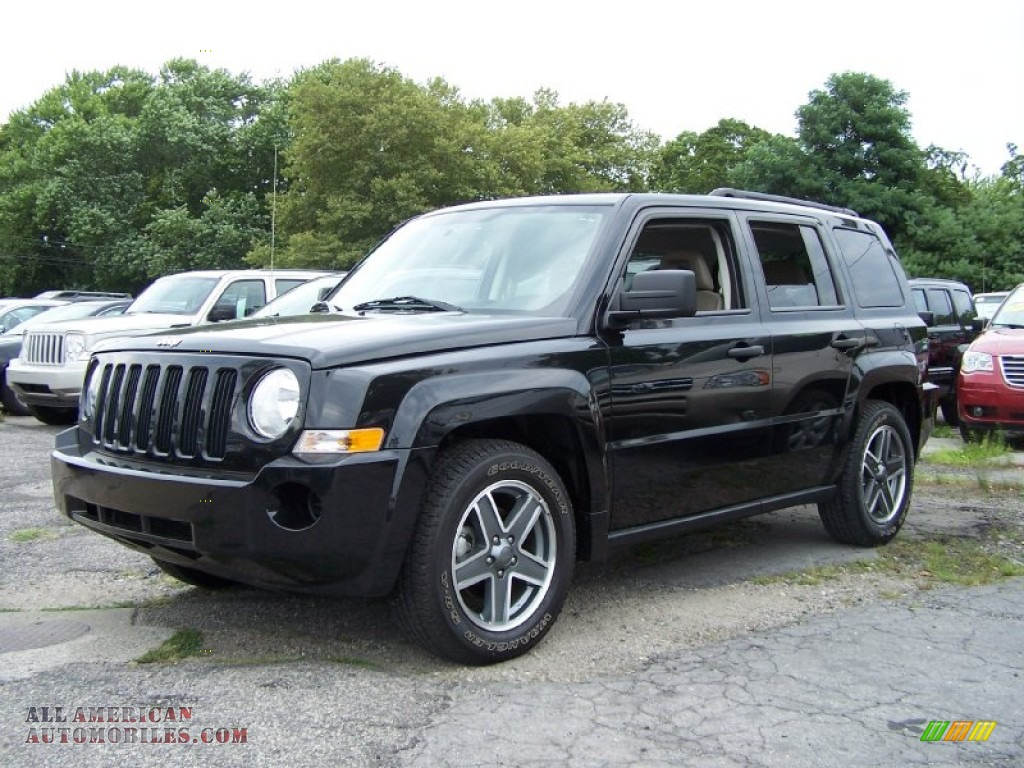 2009 jeep patriot sport 4x4 in brilliant black crystal. Black Bedroom Furniture Sets. Home Design Ideas