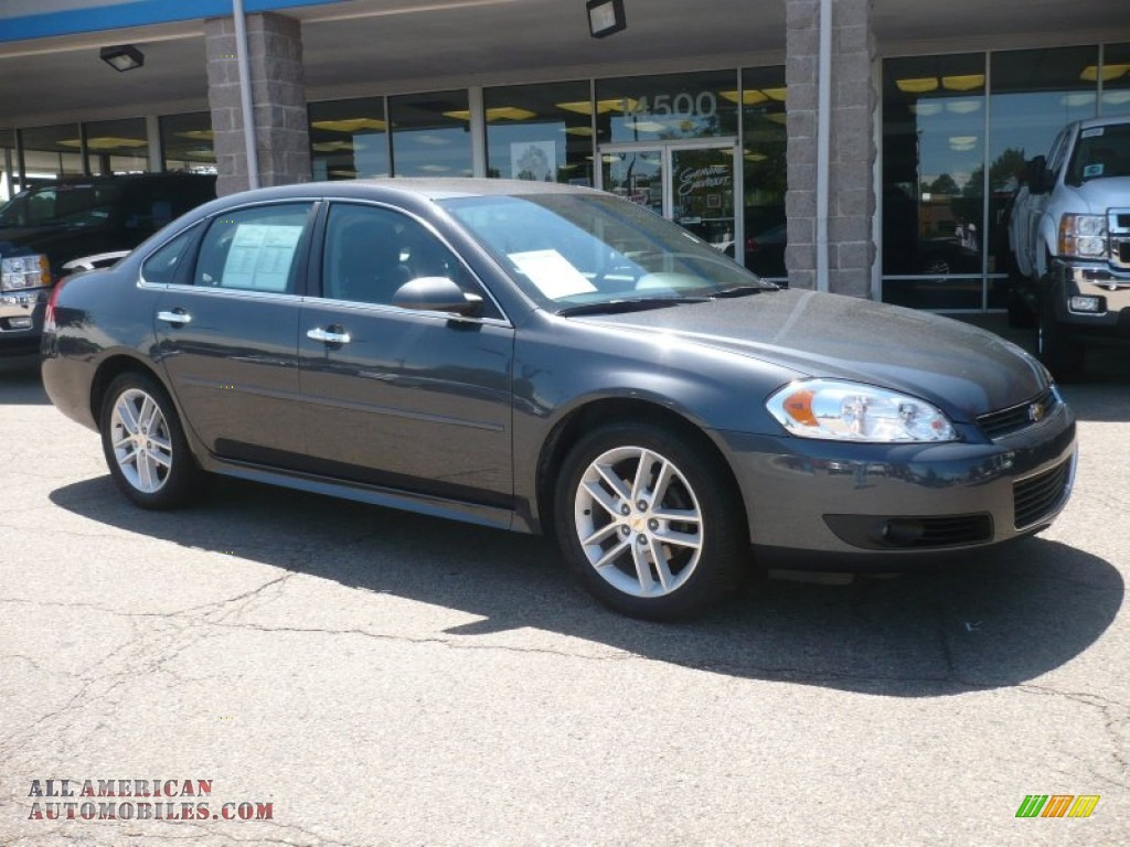 2011 chevrolet impala ltz in cyber gray metallic 180906 all american automobiles buy. Black Bedroom Furniture Sets. Home Design Ideas