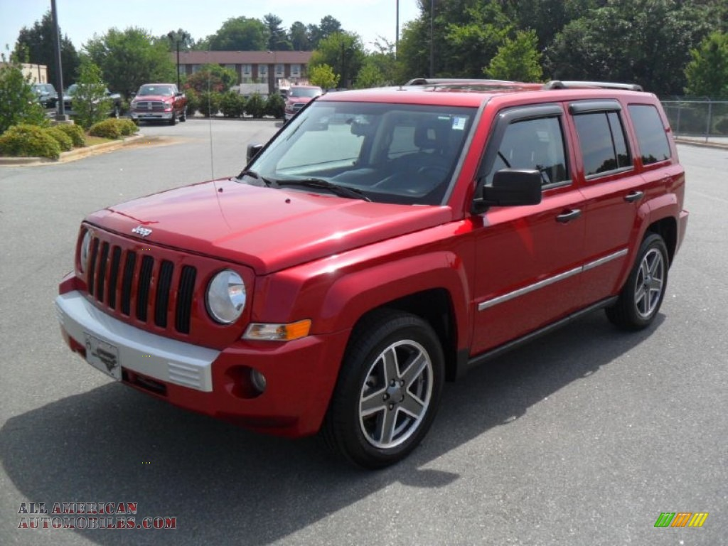 2009 jeep patriot limited in inferno red crystal pearl 118341 all american automobiles buy. Black Bedroom Furniture Sets. Home Design Ideas