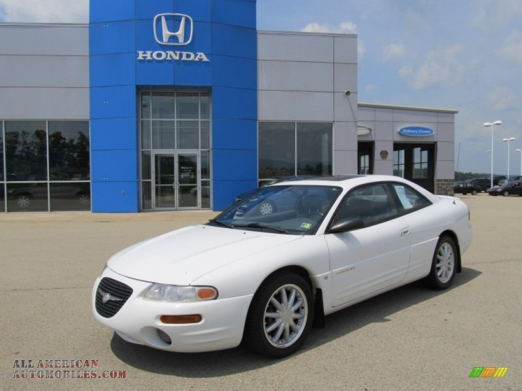 1997 chrysler sebring lxi coupe in bright white photo 4. Black Bedroom Furniture Sets. Home Design Ideas