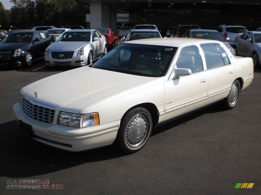 1998 cadillac deville d 39 elegance in white diamond pearl 754343 all am. Cars Review. Best American Auto & Cars Review