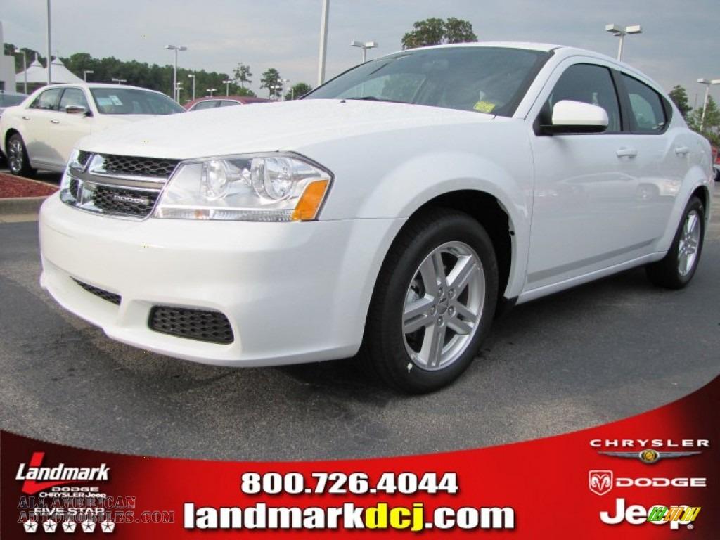 2011 Dodge Avenger Mainstreet in Bright White - 573972 | All American ...