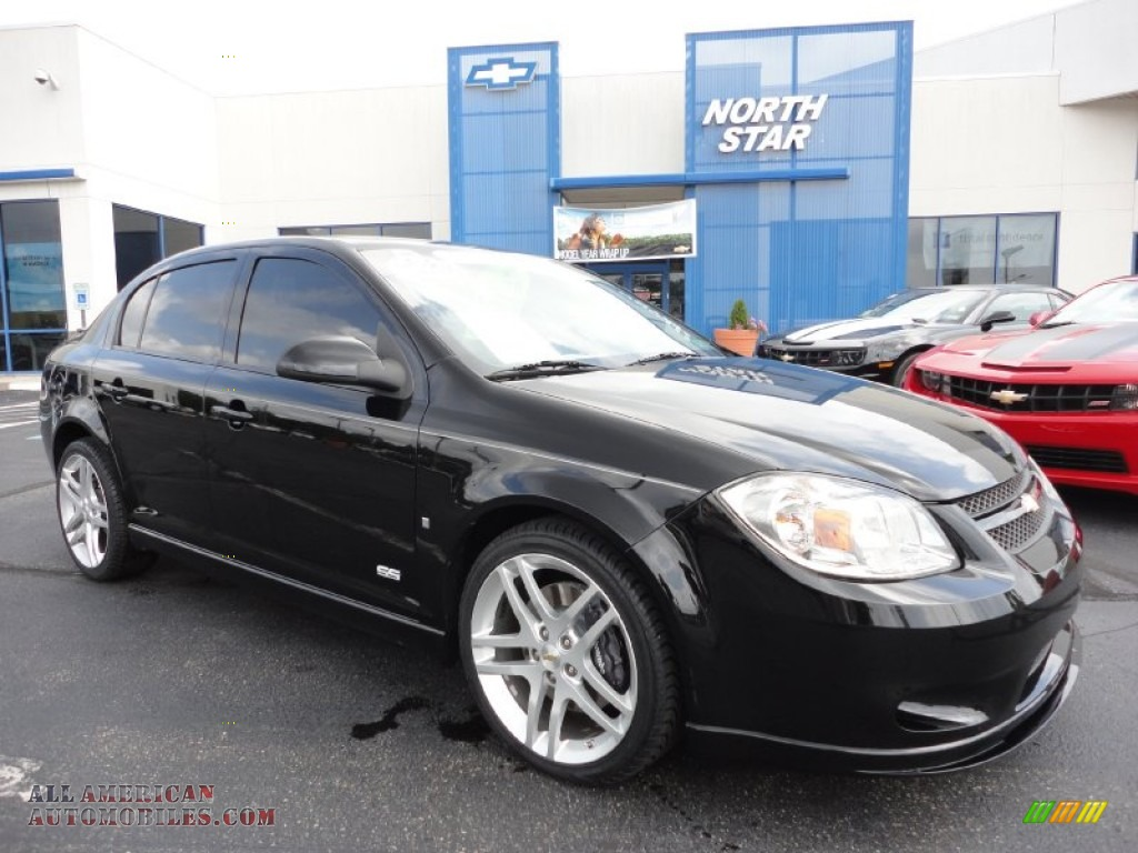 2009 chevrolet cobalt ss sedan in black 147983 all. Black Bedroom Furniture Sets. Home Design Ideas