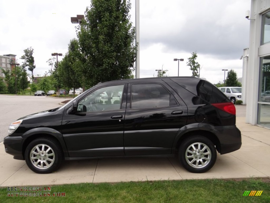 2005 Buick Rendezvous Cxl In Black Onyx 566544 All