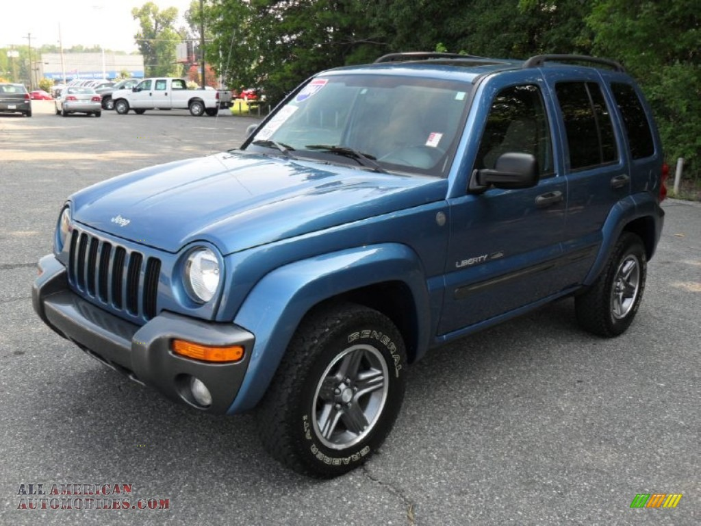 2004 jeep liberty sport 4x4 columbia edition in atlantic blue pearl 310294 all american. Black Bedroom Furniture Sets. Home Design Ideas