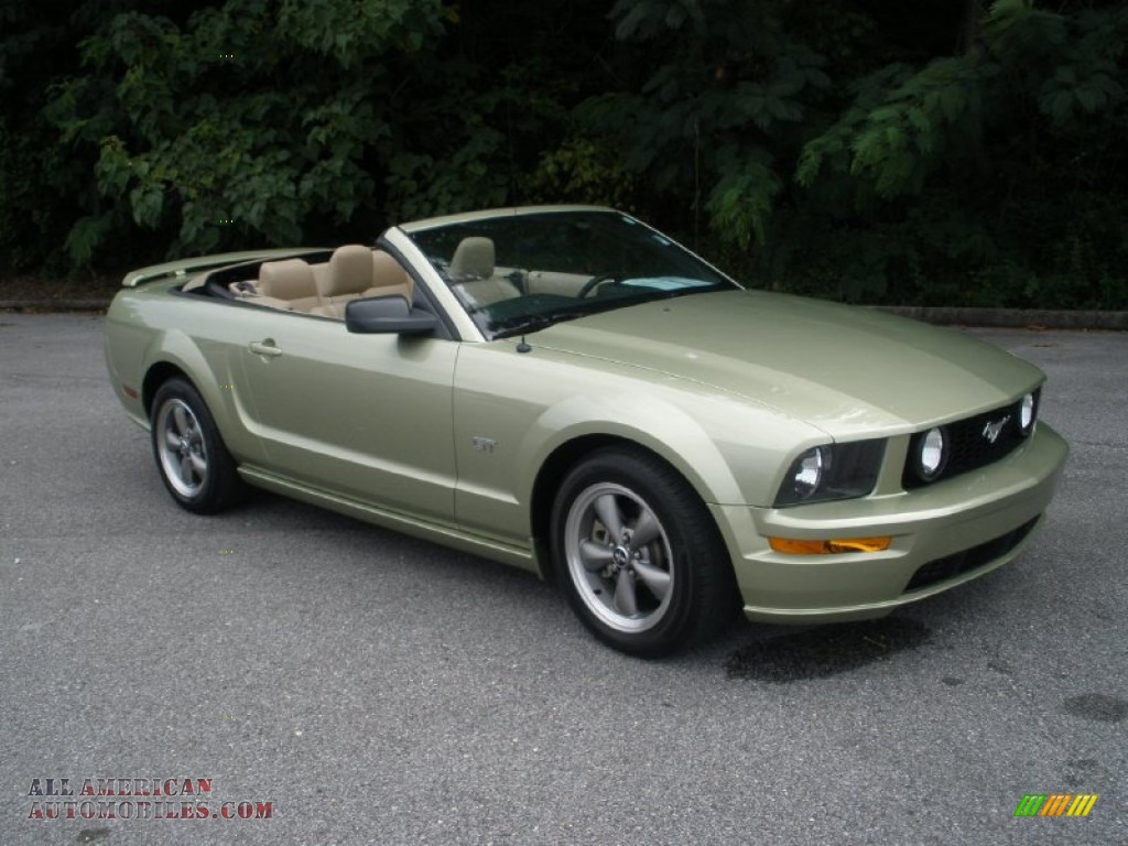 2006 mustang gt premium convertible legend lime metallic light. Cars Review. Best American Auto & Cars Review