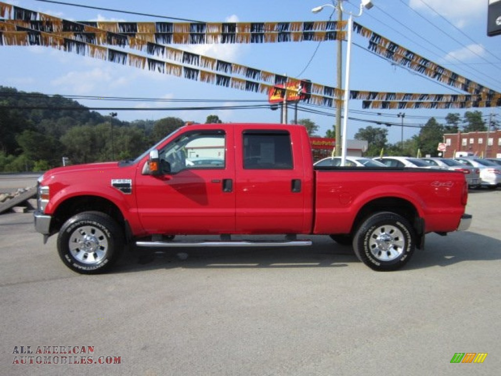 Ron Lewis Automotive Waynesburg >> 2008 Ford F250 Super Duty Lariat Crew Cab 4x4 in Red photo #2 - D42484 | All American ...