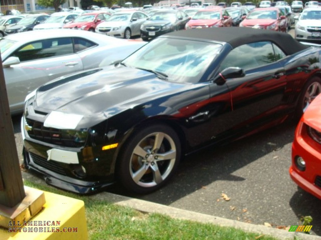 2011 chevrolet camaro ss rs convertible in black 204596 all. Cars Review. Best American Auto & Cars Review