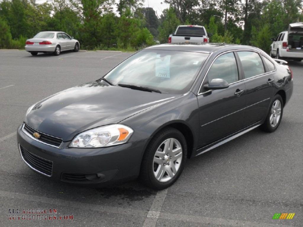 2010 Chevrolet Impala Lt In Cyber Gray Metallic 255605