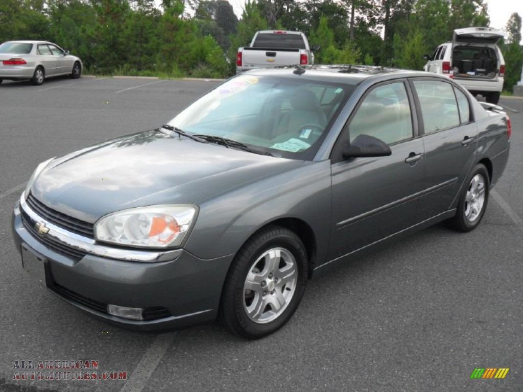 2005 chevrolet malibu lt v6 sedan in medium gray metallic. Cars Review. Best American Auto & Cars Review