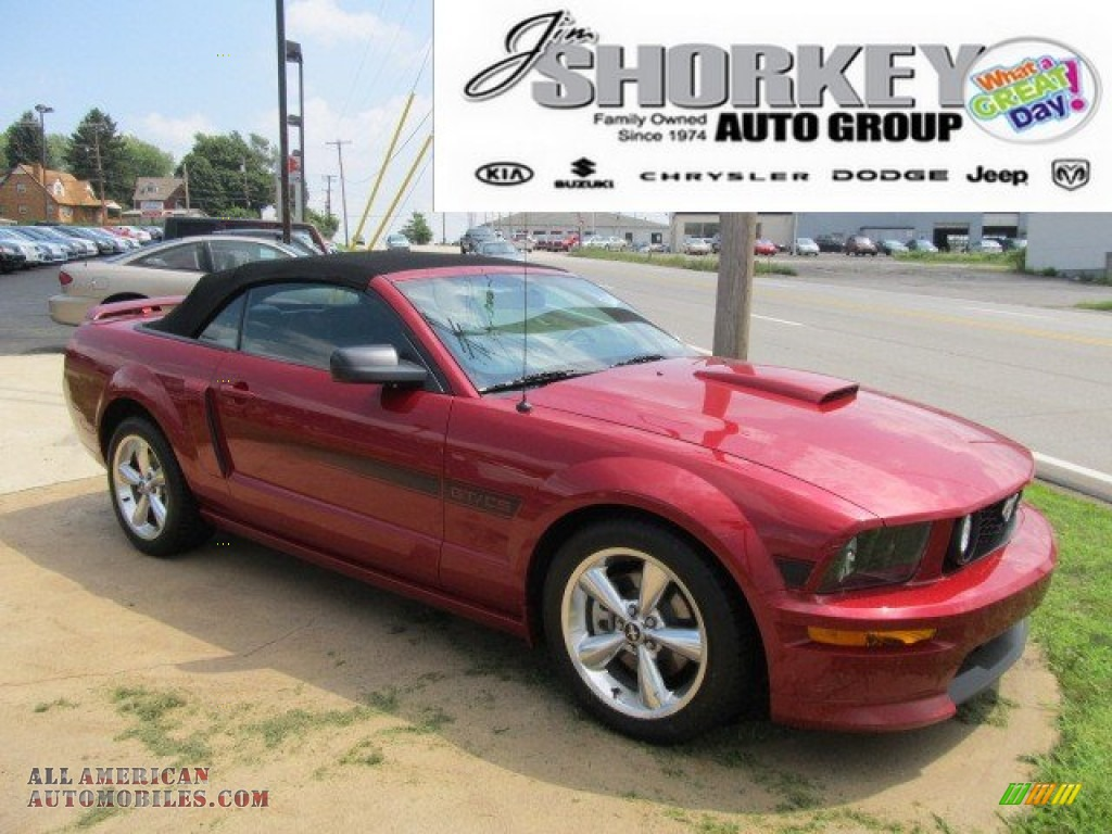 2008 Ford Mustang Gt Cs California Special Convertible In