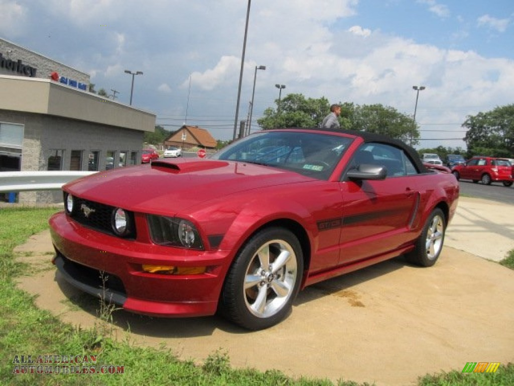 2008 Ford Mustang GT/CS California Special Convertible in ...