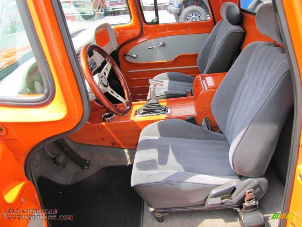 1963 Chevrolet C/K C10 Pro Street Truck in Custom Orange ...