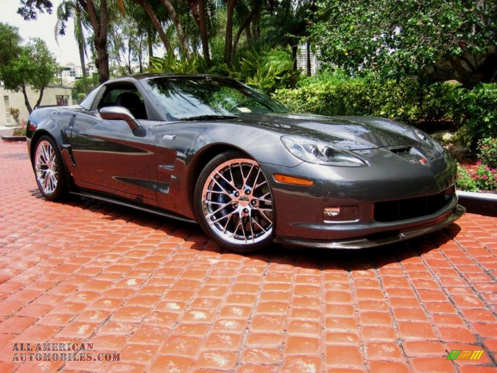 2009 Chevrolet Corvette ZR1 in Cyber Gray Metallic ...