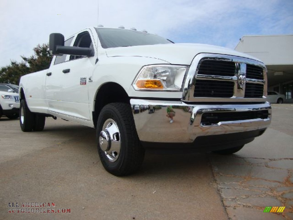 2012 dodge ram 3500 hd st crew cab 4x4 dually in bright white 104012 all american. Black Bedroom Furniture Sets. Home Design Ideas