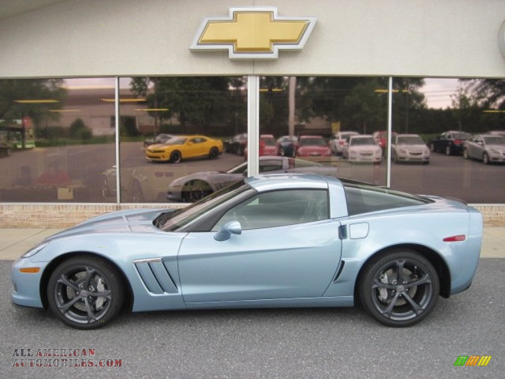 2012 Chevrolet Corvette Grand Sport Coupe in Carlisle Blue Metallic ...