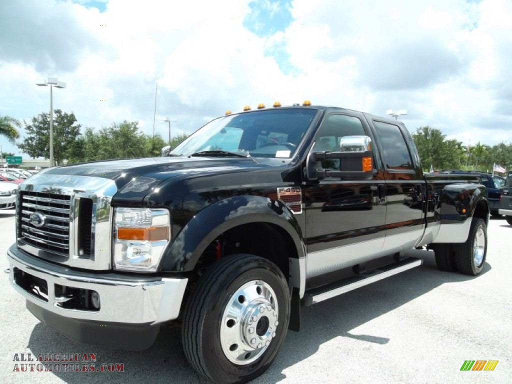 2010 ford f450 super duty lariat crew cab 4x4 dually in black photo 14 a83644 all american. Black Bedroom Furniture Sets. Home Design Ideas